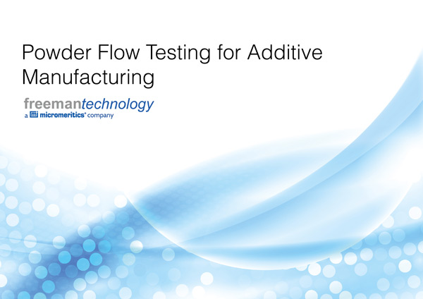 Powder Flow Testing for Additive Manufacturing