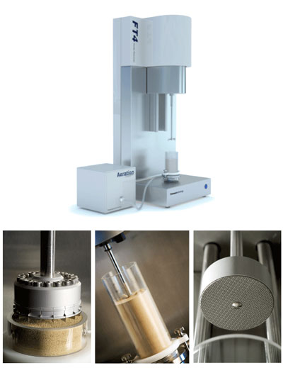 Image of the FT4 Powder Rheometer - Laboratory Instrument