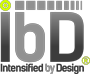 IbD Logo in grey and green