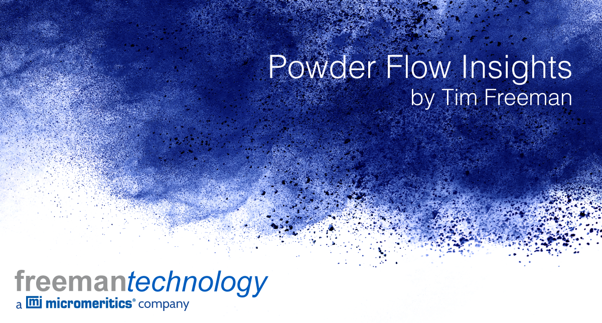 Focusing on powder flowability
