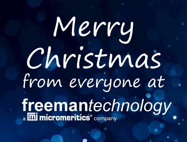 Seasons Greetings from Freeman Technology