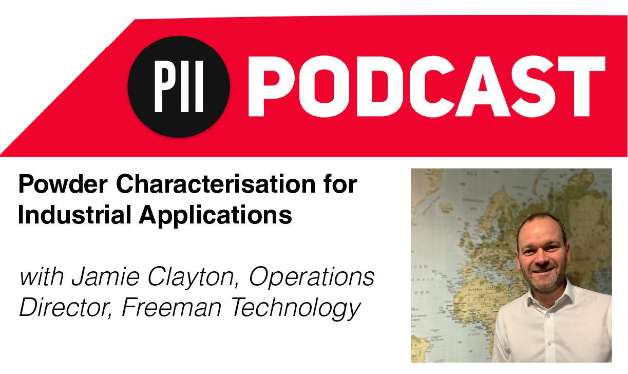 Powder characterisation for industrial applications podcast