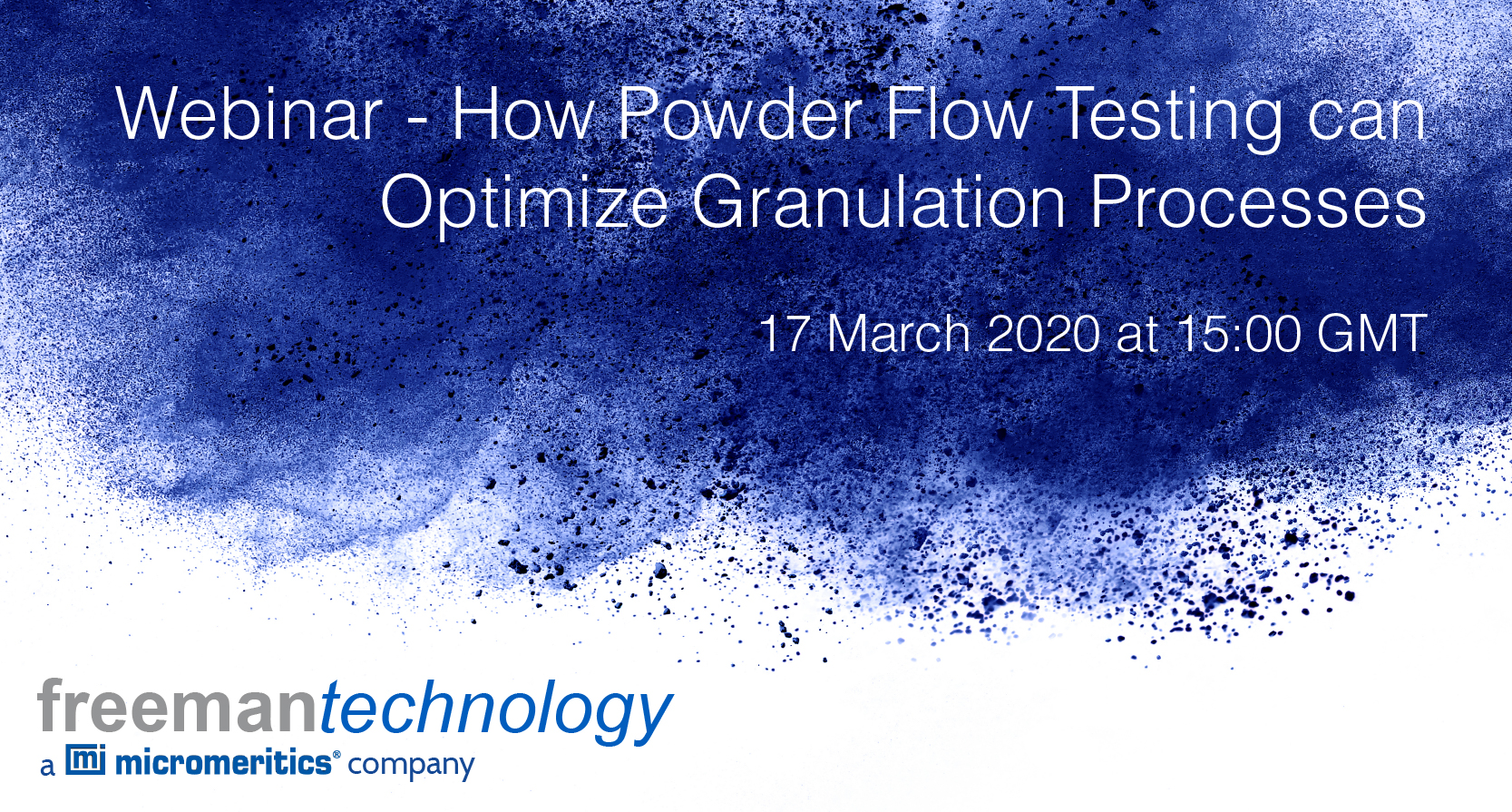 Webinar - How powder flow testing can optimize granulation processes