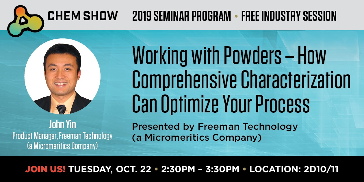 Optimize your process by understanding powder behavior